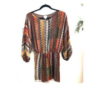 Parker retro inspired fall dress
